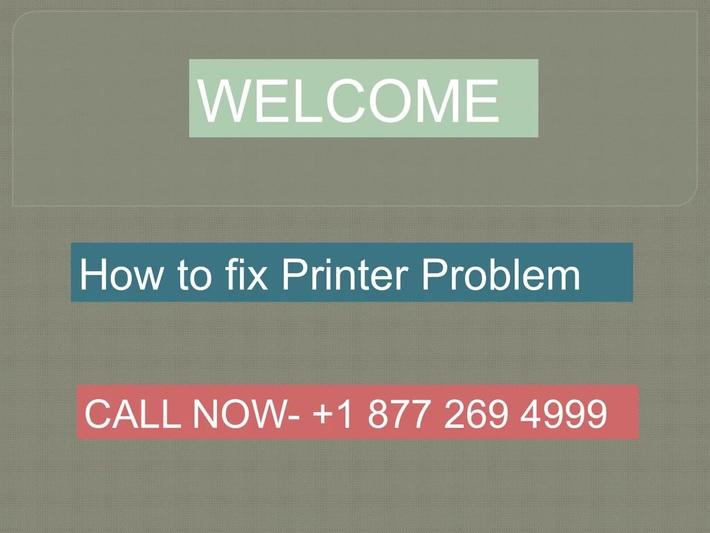 How to fix Printer Problem