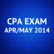 CPA Exam Apr/May 2014