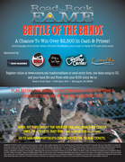 Battle of the Bands win $2,500.00 from Guitar Center