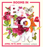 Rooms in Bloom at Historic Strawberry Mansion