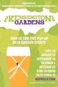 Kensington Gardens Pop-Up Beer Garden #4