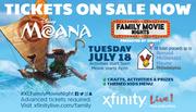 Family Movie Night- Moana