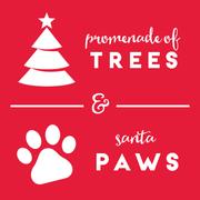 Manayunk Promenade of Trees/Santa Paws