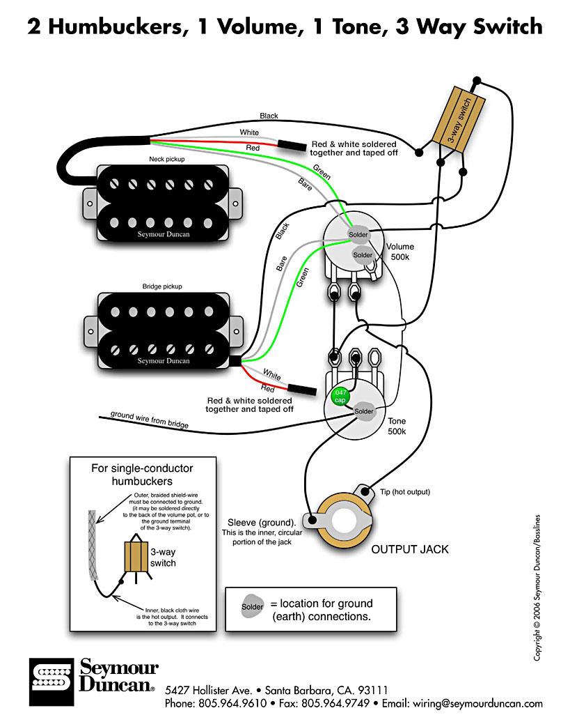 be aware that different pickup makers sometimes use different wires as  shown here