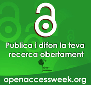 Inauguration of the OA week at the Universitat de Barcelona