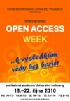 OA Week at the University of Pardubice