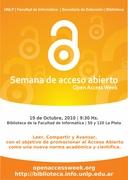 Jornadas sobre acceso abierto