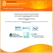 Jornada Virtual Acceso Abierto Argentina 2014
