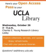Open Access Pass to the UCLA Library