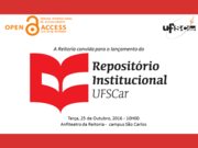 Launch of IR at the Federal University of São Carlos - Brazil