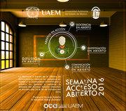 Semana del Acceso Abierto UAEMéx 2016