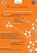 Le futur de la science est ouvert à l'Université Paris1.