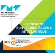 Evenement IMT Atlantique sur le Libre Acces à partir du 8 novembre