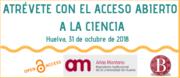 Ciclo de Conferencias sobre acceso abierto y repositorios en la Universidad de Huelva