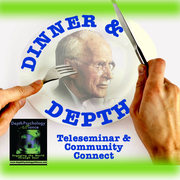 """""""Dinner & Depth"""" Teleseminar & Community Connect on Archetypal Astrology WED July 22 PDT"""