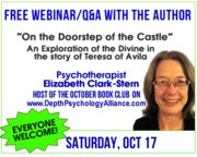 Live Webinar/Q&A with Therapist/Author Elizabeth Clark-Stern on her book about Teresa of Avila