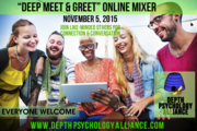 "Online ""Deep Meet and Greet"" — An Online Mixer for Depth Alliance Members"