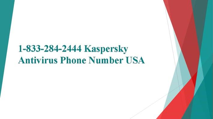 Kaspersky Antivirus 1-833-284-2444 Support Number