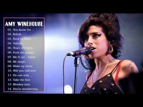 Amy Winehouse Greatest Hits Full Album Live - Best Of Amy Winehouse