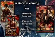 Whispers of the Skyborne (Devices of War Book 3) Release Day