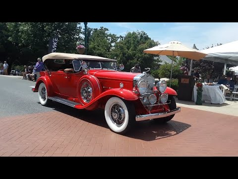 1930 V16 Cadillac 452 Sport Phaeton and 1935 White Custom 703