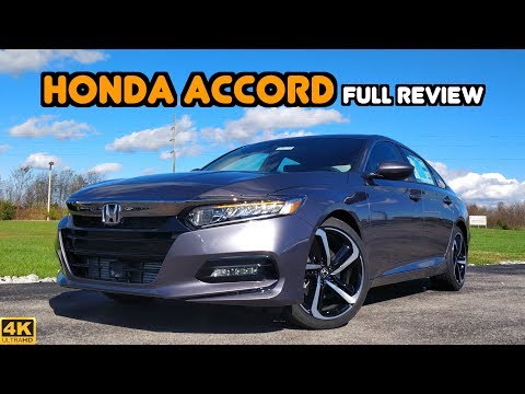 2019 Honda Accord: FULL REVIEW + DRIVE | At the Top of its Game!