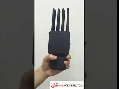 Nouveau brouilleur GPS wifi pour téléphone mobile 8 antennes