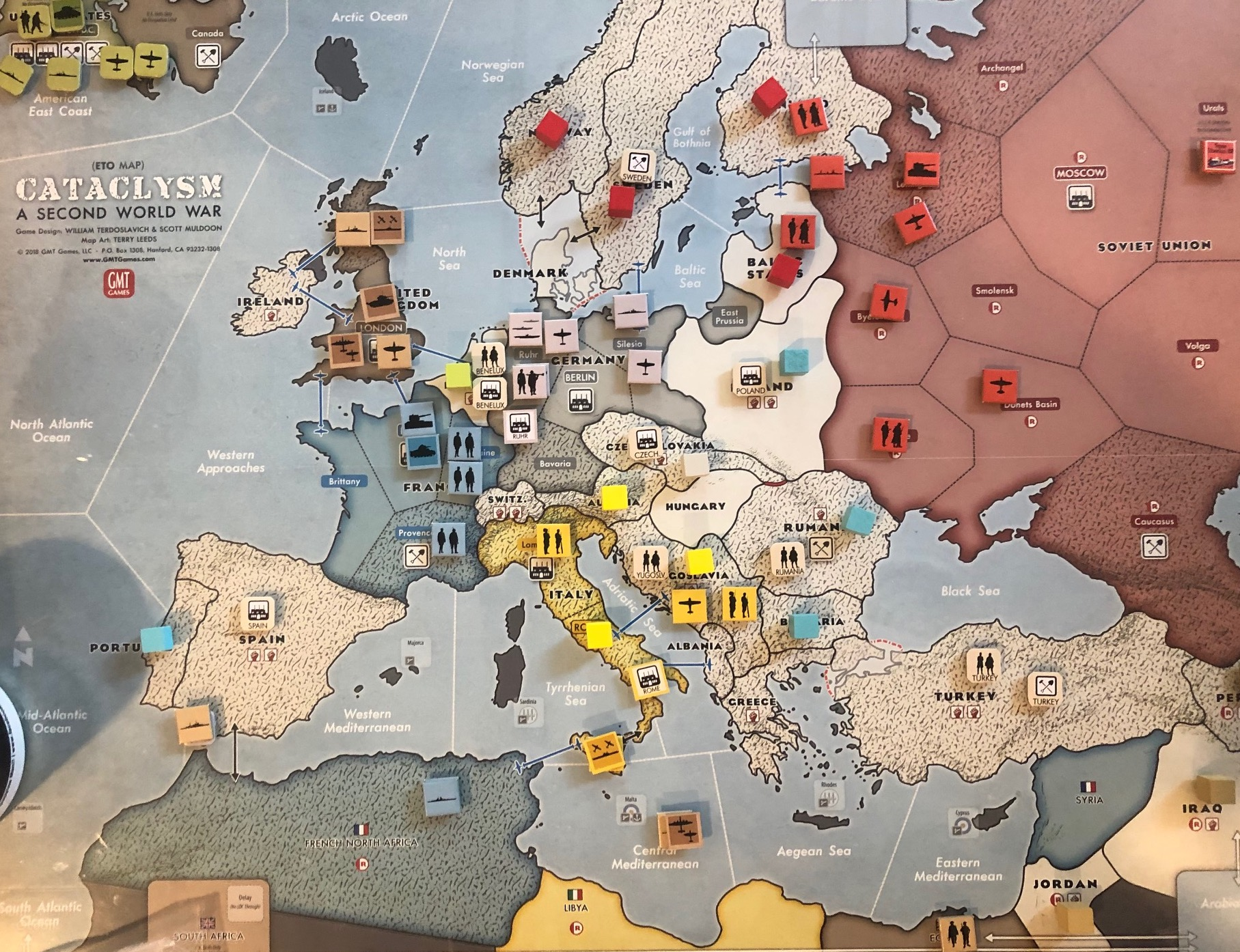 CATACLYSM -- early 1941-1942 Turn