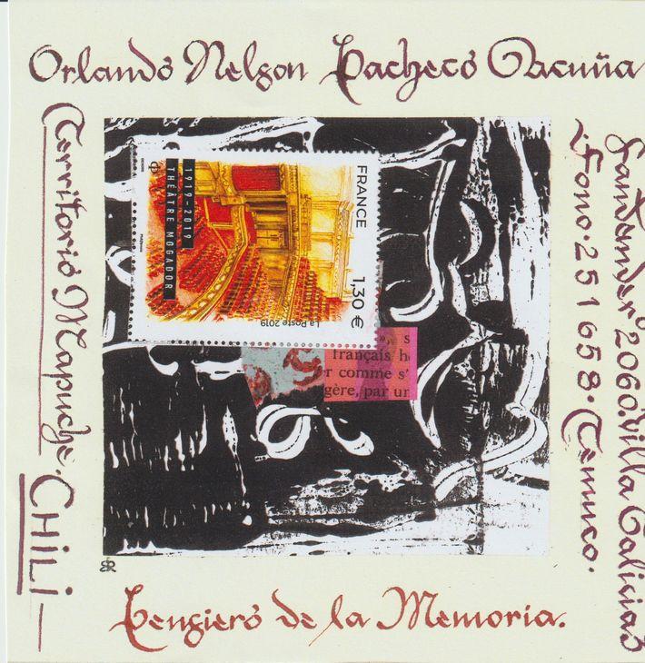 sent to Orlando Nelson Pacheco Acuna
