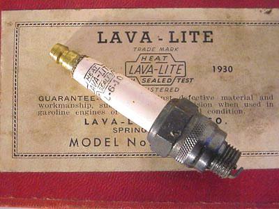 Lava-Lite Sparkplug