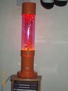 Orange glitter Jet