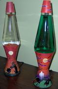 Custom Halloween Lamps from Mandysbus