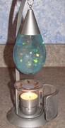 Candle glitter lamp on e-bay