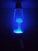 Mathmos Astro white/clear with UV-bulb (black light)