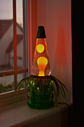 House plant lava lamp