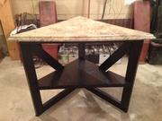 Corner table rebuild 3