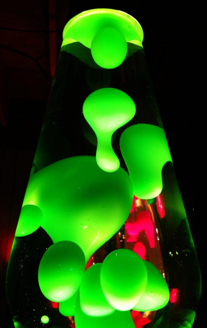 Green Grande w/pink refraction