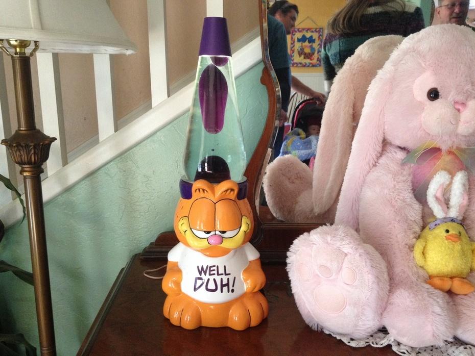 Garfield lava