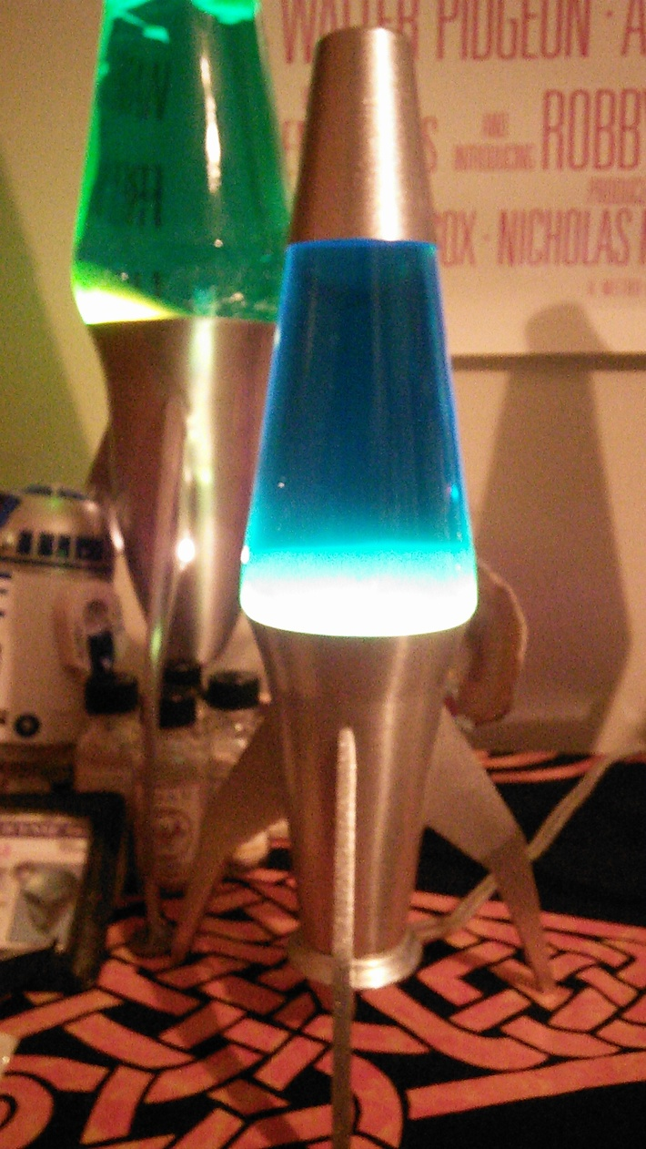 Starship 2 Blue Liquid White Goo