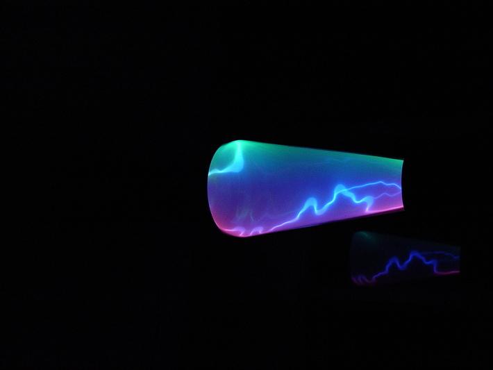 Lightning Storm plasma lamp