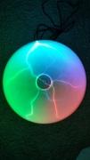 Multicolored plasma