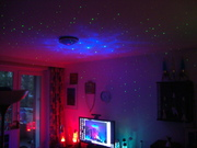 Galaxy Projector and Blue/Red Theme