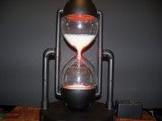 Star Showers Plasma Crackletube Hourglass Lamp