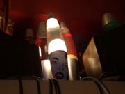 """Pop Art"" Lava lamp"