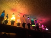 When I only had a few lamps lol!!!