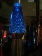 Long strand blue glitter lamp thanks kirk looks great