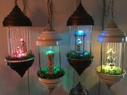 oil rain lamps 4 together