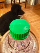 Green plastic top