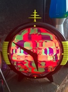 Lava's Time Machine clock