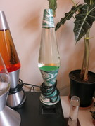 Lava lamp #12 Green Swirl Lamp
